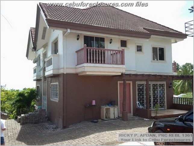 house and lot for sale in cebu city overlooking SRP going